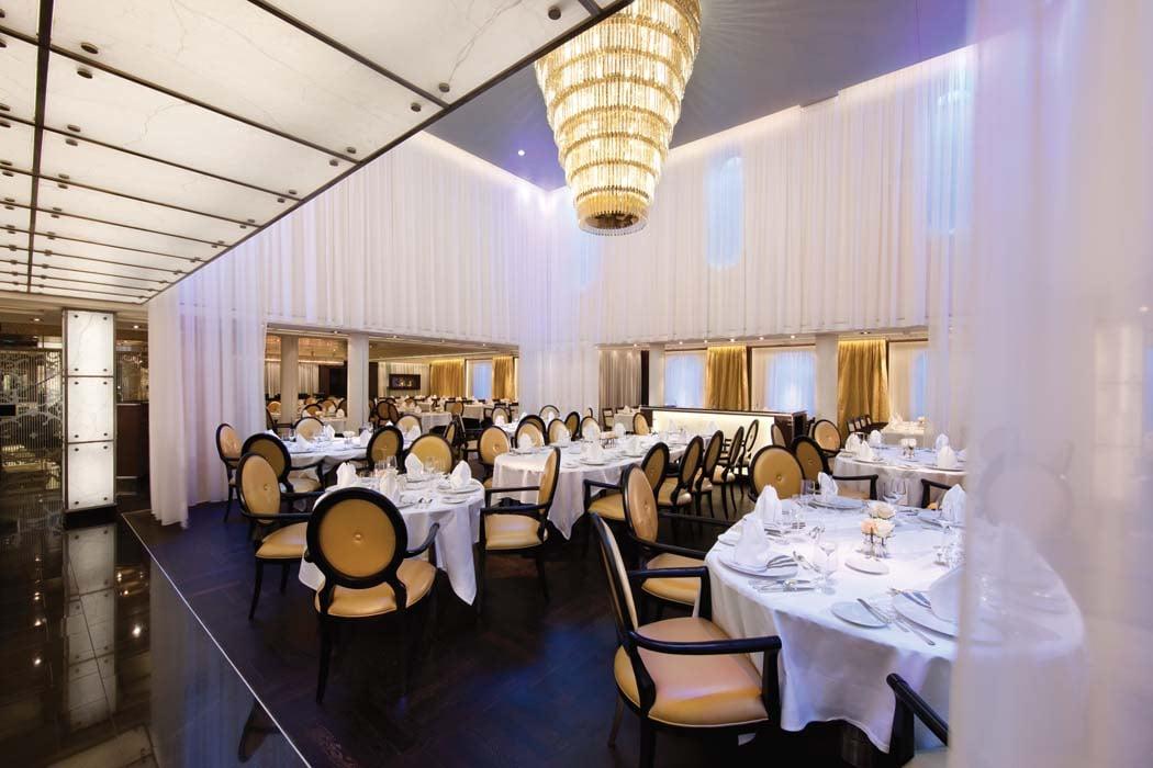 The Restaurant on Seabourn Cruises