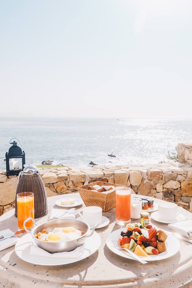 Breakfast at One and Only Palmilla