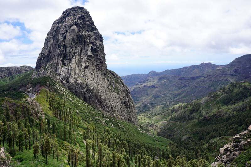 Roque Agando in Garajonay National Park