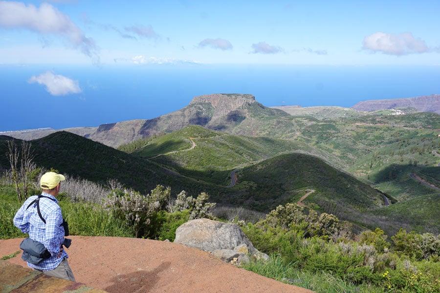 Canary Islands cruising to La Gomera