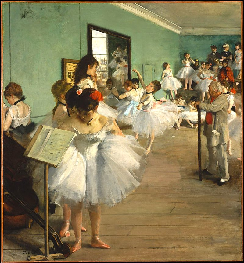 Must see at the Met: The Dance Class by Degas