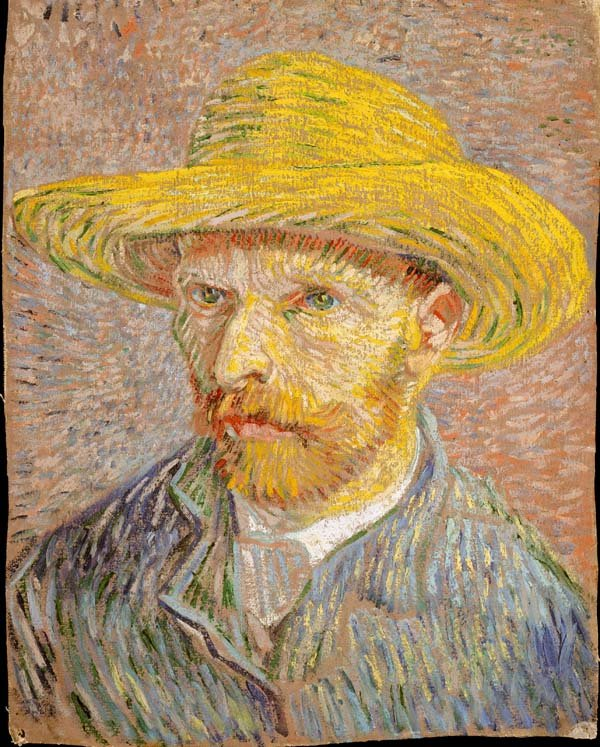 Van Gogh Self-Portrait at the Met Museum