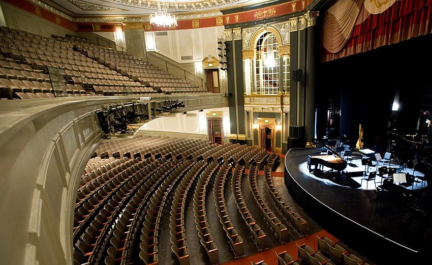 The Brown Theatre is one of five top Louisville theaters