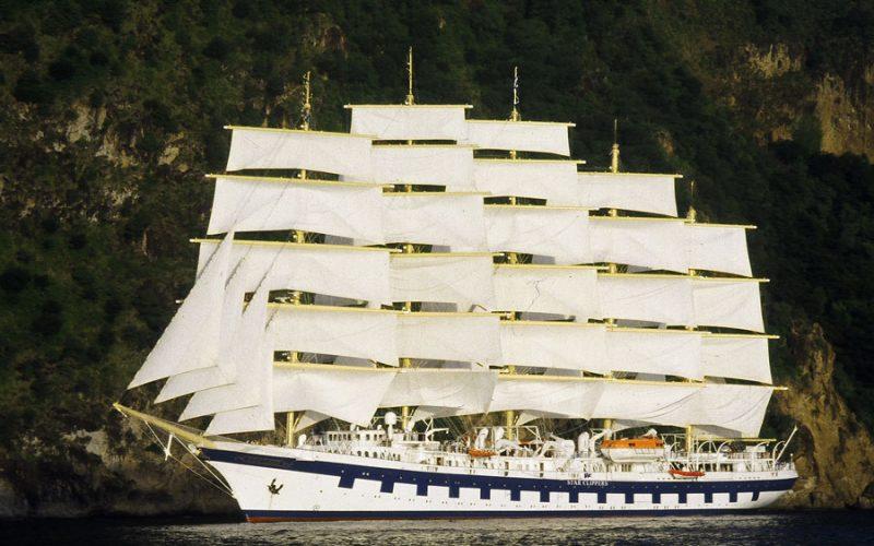 Royal Clipper ship