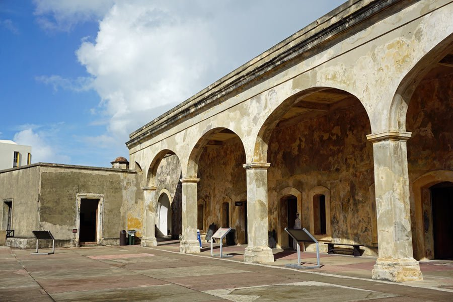 Castillo de San Cristobal, Old San Juan, was built between 1765 and 1785.