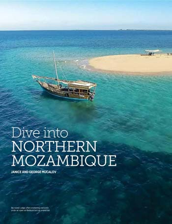 Dive into Northern Mozambique