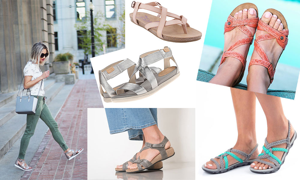 Best Travel Sandals for Beach, City and Adventure | Sand In