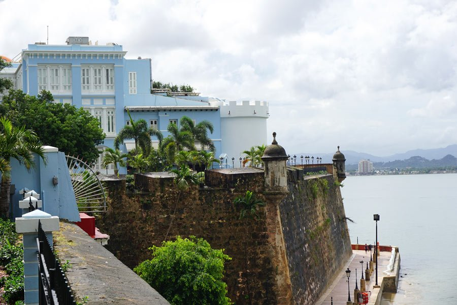 Dating back to the 16th century, La Fortaleza is the governor's mansion in Old San Juan, Puerto Rico