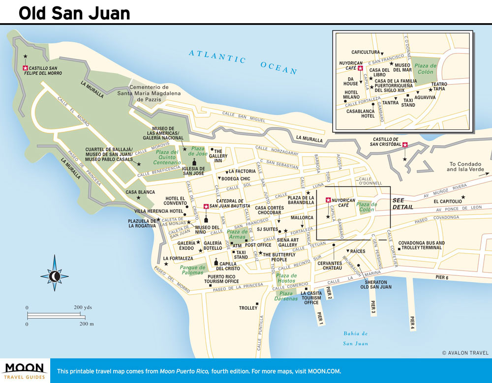 This is a graphic of Smart Printable Map of Puerto Rico