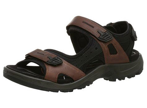 The ECCO Yucatan are one of the best men's travel sandals