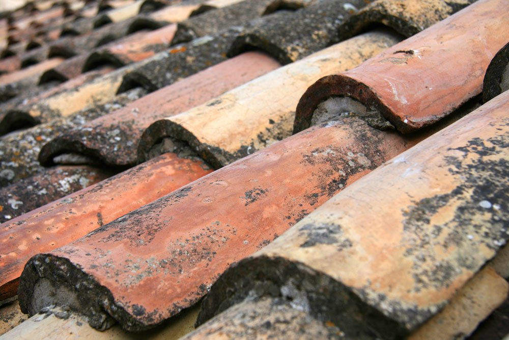 Dubrovnik Old Town roof tiles