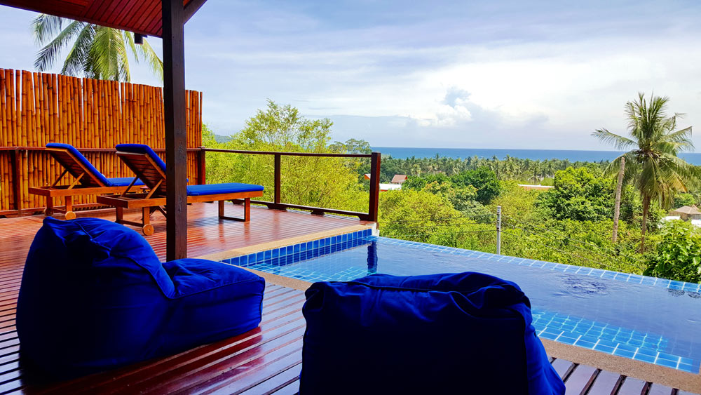 The Place Luxury Boutique Villas is one of the best places to stay in Koh Tao, Thailand