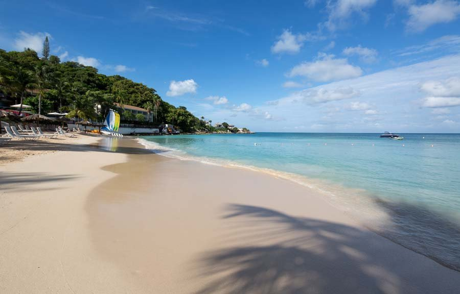 Beaches in Antigua: Blue Waters Resort