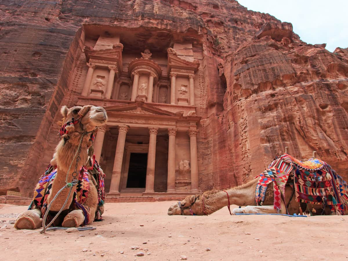 Dating back to the 4th century B.C., the lost city of Petra is one of the world's most important archaeological sites.