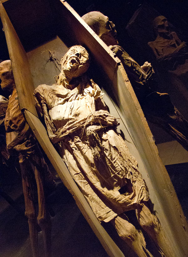 One of the Guanajuato mummies