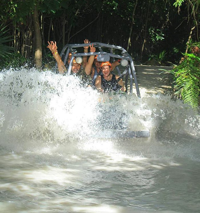 Visiting Xplor is one of the adventurous things to do in Riviera Maya
