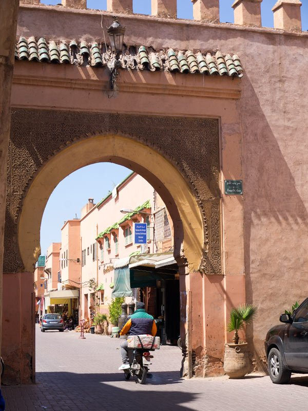 Visiting the Marrakesh Medina on a Morocco cruise