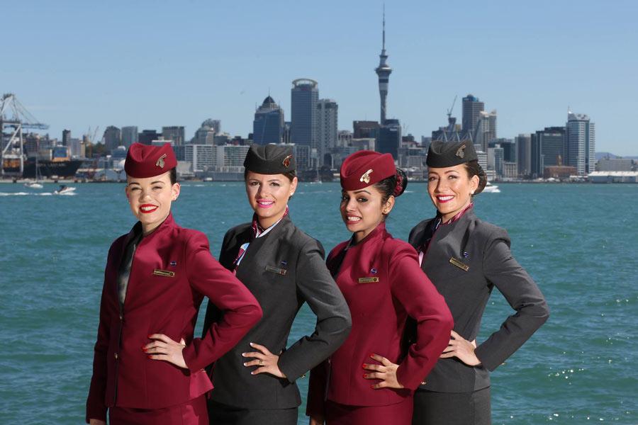 Qatar cabin crew