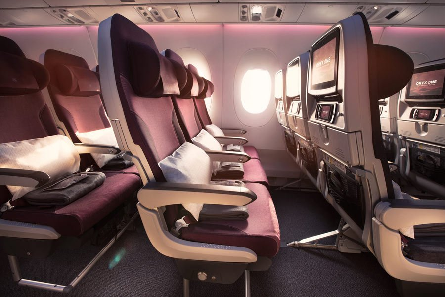 Review of Qatar Airways Economy Class