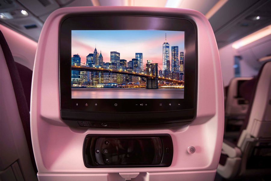Qatar Airways entertainment