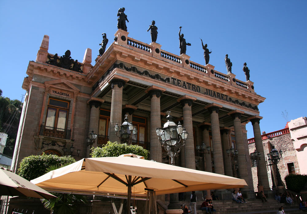In Guanajuato? Be sure to visit the Teatro Juarez