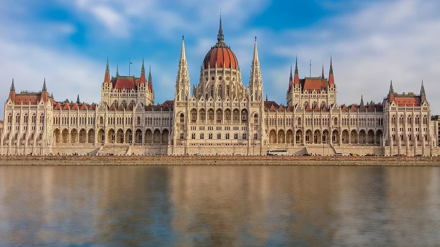 The Hungarian Parliament building is one of the top things to see in Budapest