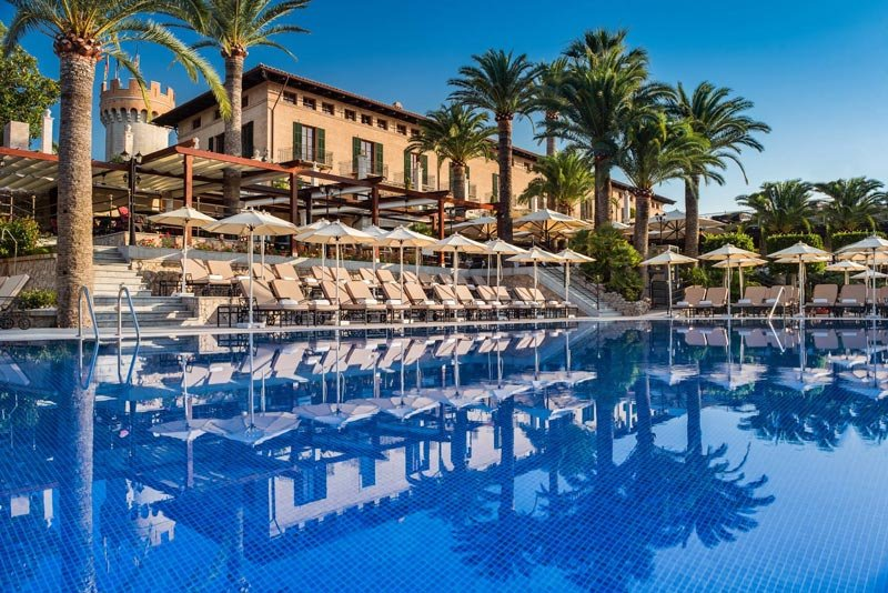 The Castillo Hotel Son Vida is a 5 star hotel in Mallorca