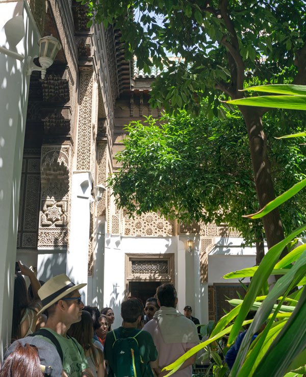 Touring the Bahia Palace is one of the best things to do in Marrakesh