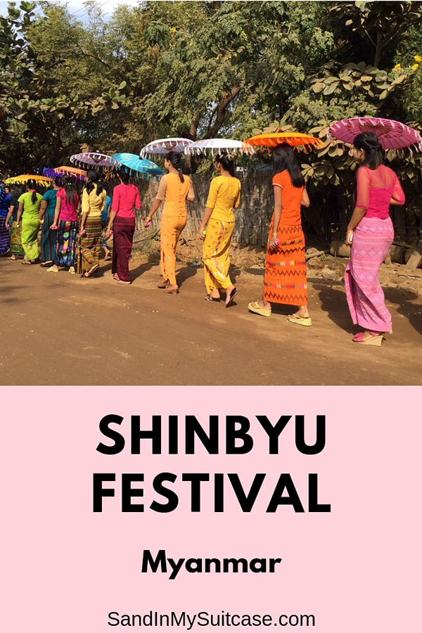 The Colorful Shinbyu festival in Myanmar celebrates the initiation of novice Buddhist monks.