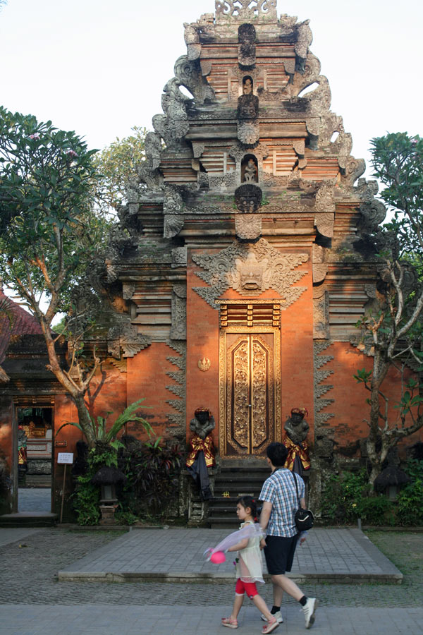 Balinese dance performances are held nightly in the crumbling Ubud Palace.