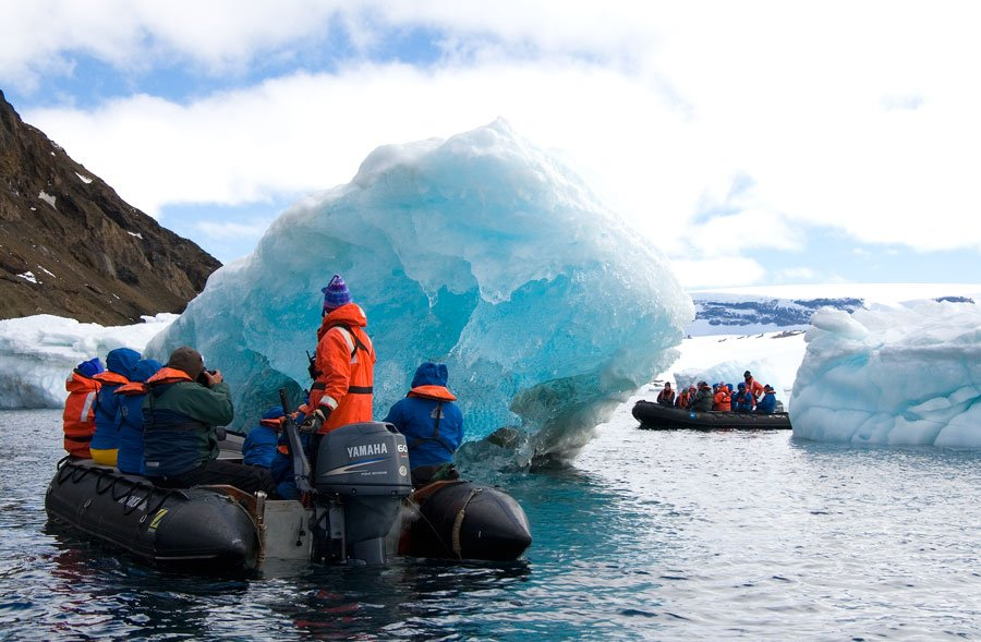 Antarctic expedition cruise