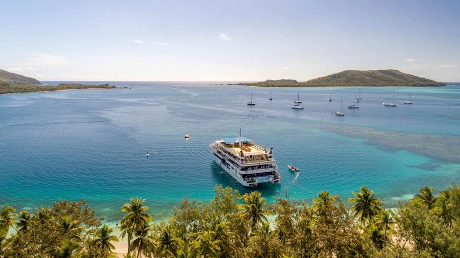 Fiji cruising