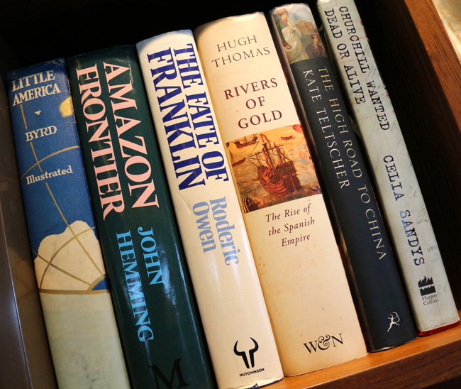 """Lots of books and travel guides help make Viking Ocean Cruises a """"thinking man's cruise."""""""