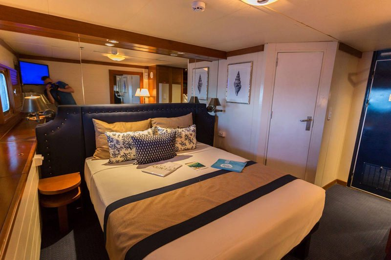 Blue Lagoon Cruises: Fiji Princess cabin