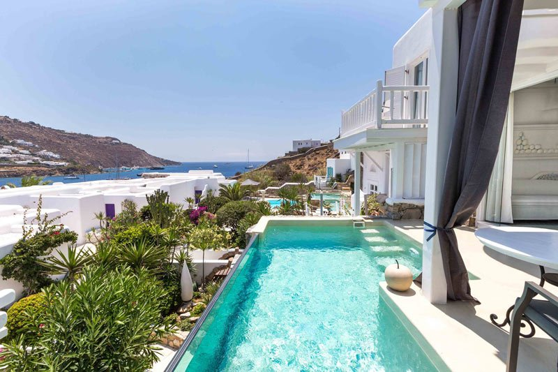 Kivotos Hotel is one of the best Mykonos hotels on the beach