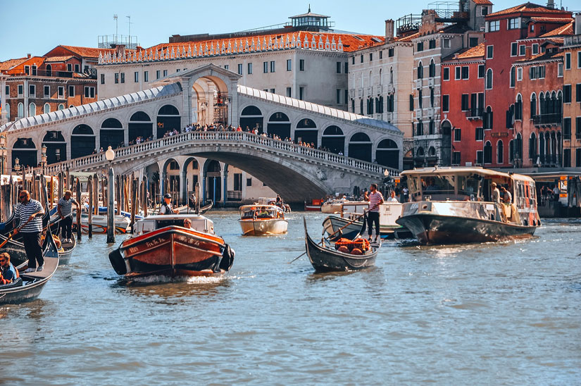 Bridges of Venice: Rialto Bridge