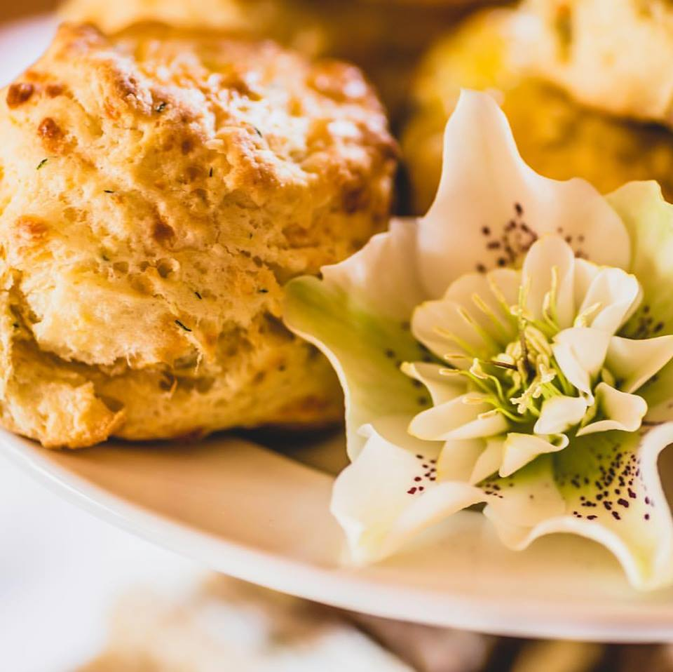 The scones are always a hit at the Abkhazi Garden tea house.