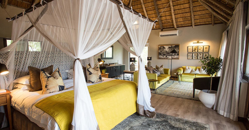 Simbambili Game Lodge Honeymoon Suite