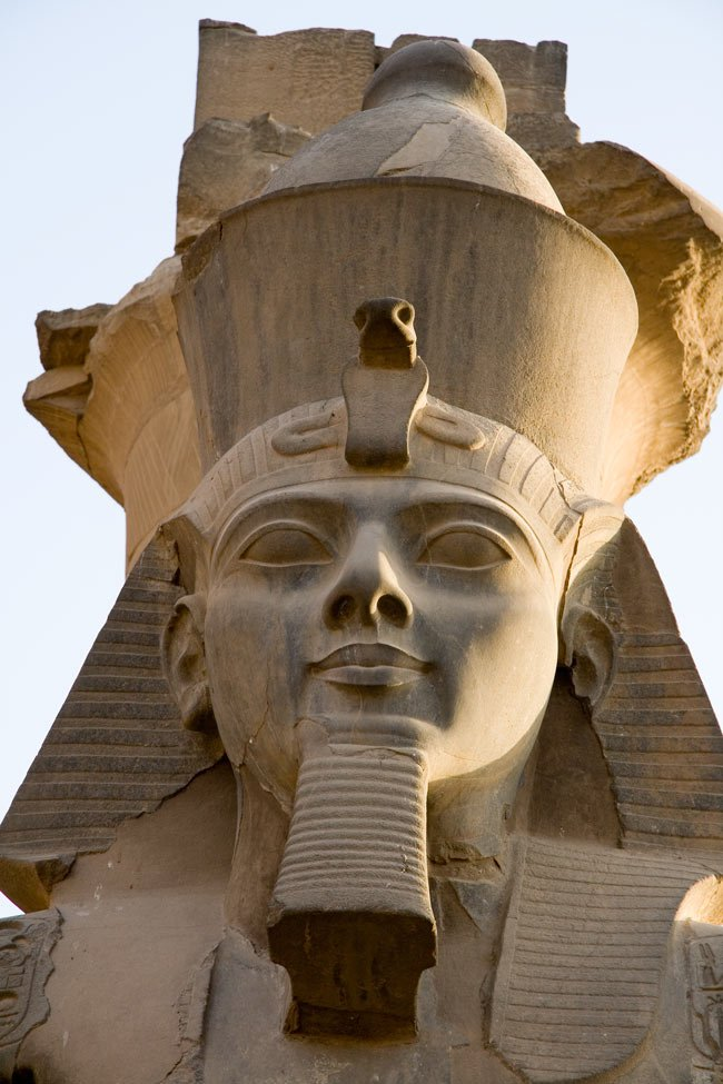 Statue of Ramesses II at the Temple of Luxor