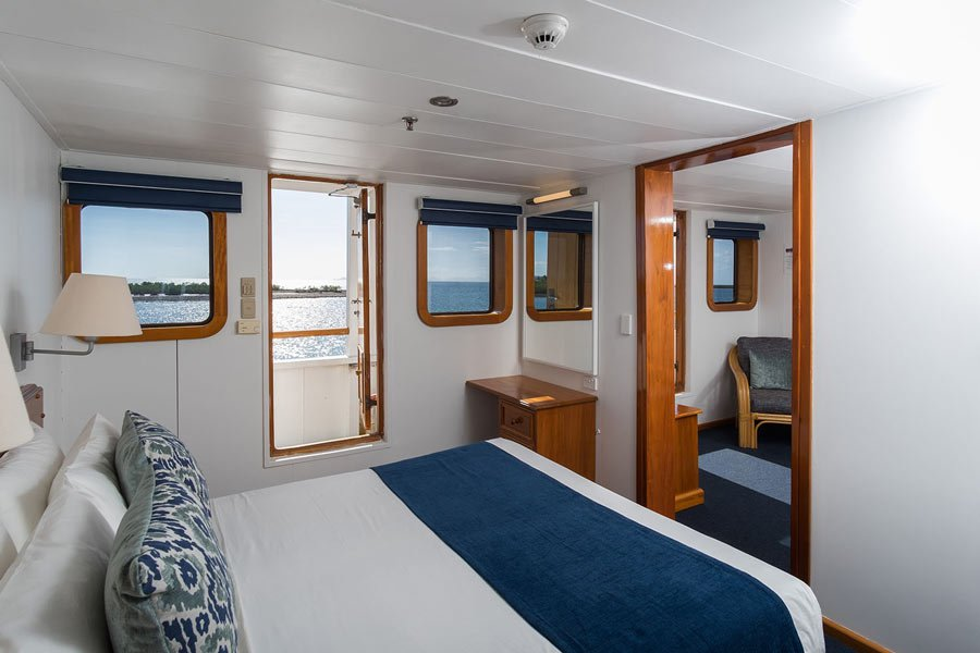 Captain Cook Cruises: Reef Endeavour cabin