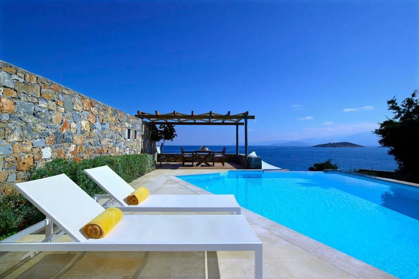 St. Nicolas Bay Resort Hotel & Villas is a lovely 5 star Crete hotel