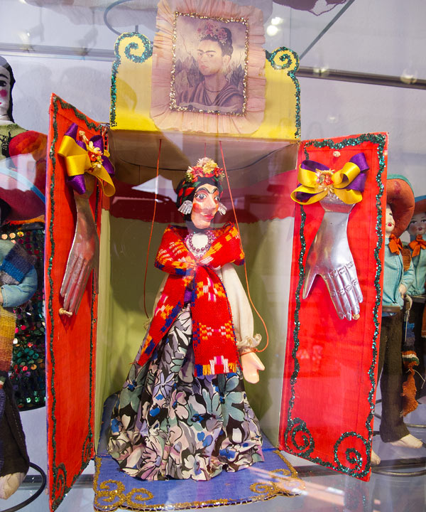 A Frida doll at the Toy Museum, San Miguel de Allende