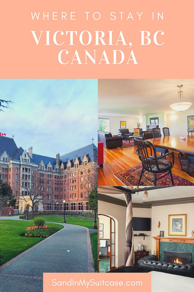 Where to stay in Victoria, BC