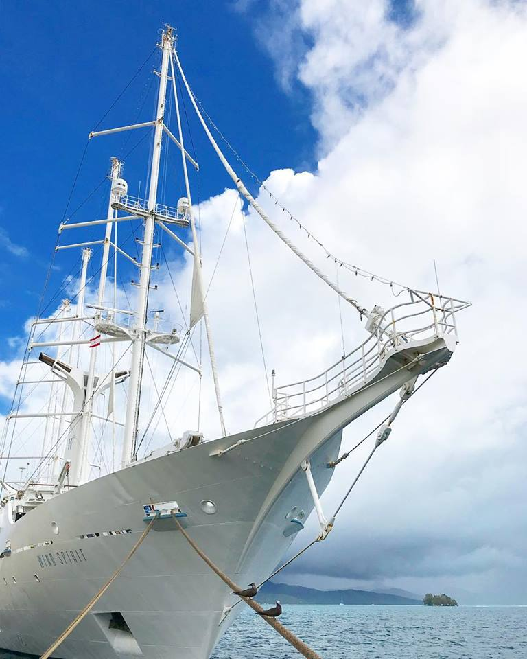 French Polynesia cruise: The Wind Spirit