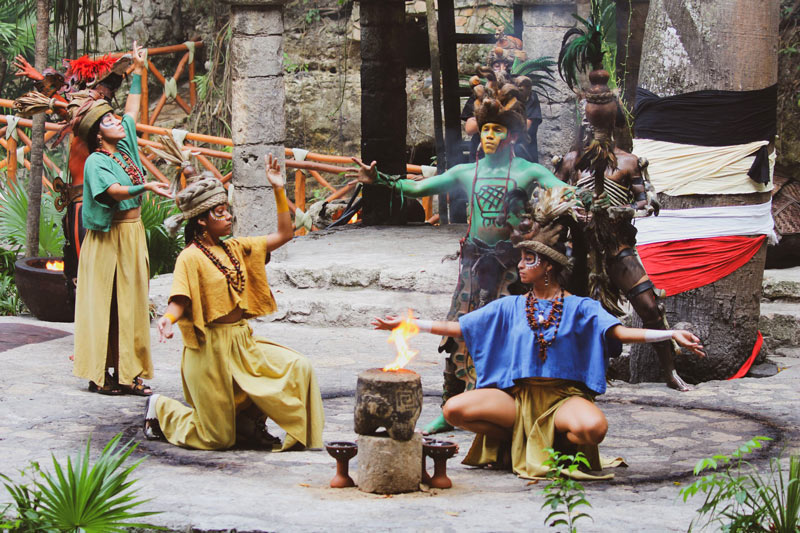 Cultural shows at Xcaret pay homage to the Mayan culture