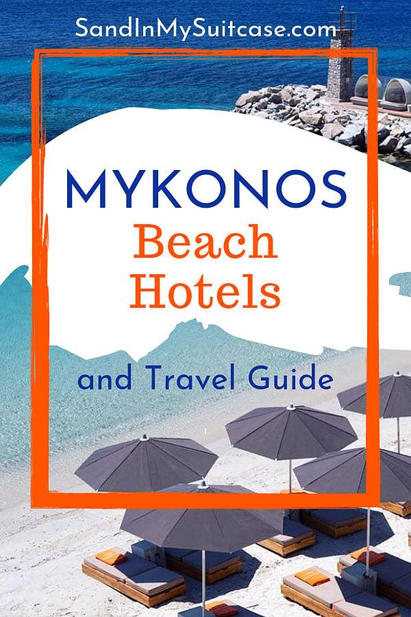 Mykonos beach hotels