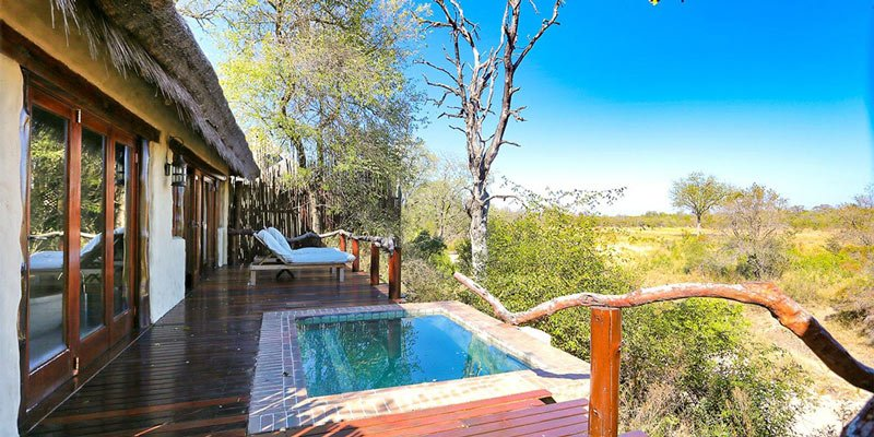 Simbambili Game Lodge has nine honeymoon-worthy bungalows