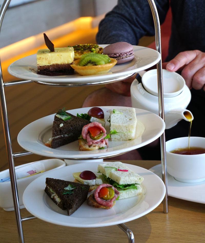 Afternoon tea on the Viking Sea