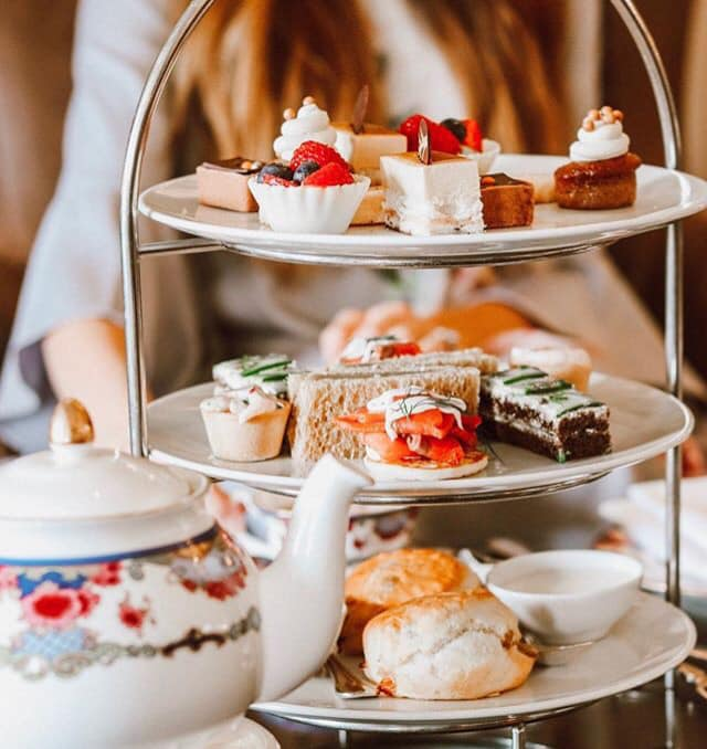 This high tea at the Fairmont Empress Hotel is a meal in itself!