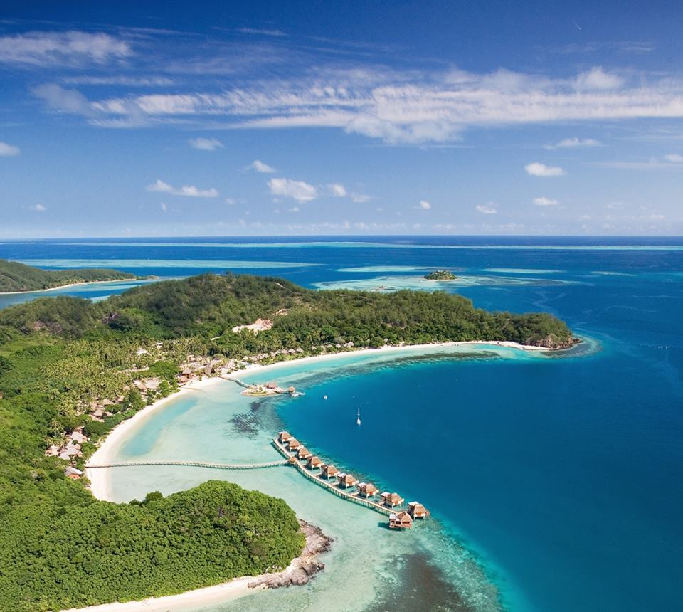 Likuliku Lagoon Resort was the first luxury Fiji resort with over the water villas